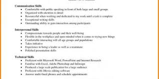 Leadership Skills Examples Resume Design And Ideas Page 0 Life