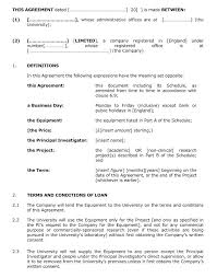 Company Loan To Employee Agreement Employee Agreements Loan Agreement Template Contract Form