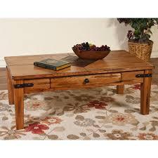 Sunny Designs Coffee Table Sunny Designs Sedona Dark Chocolate Coffee Table At