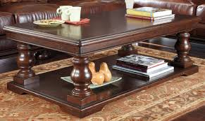 top 46 magnificent dark wood coffee table with drawers and end tables wesling square signature design by ashley awesome large size of furniture sets