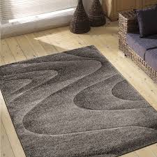 dark grey swirl pattern delhi rug