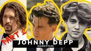Johnny Depp Hair History & How To Create Them - YouTube