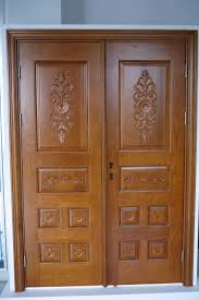front double doors. Teak Wood Front Double Door Designs Doors R