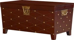 astoria grand cainhoe nailhead trunk coffee table reviews wayfair