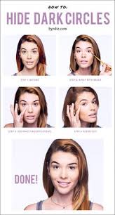 how to cover dark under eye bags in 4 easy steps
