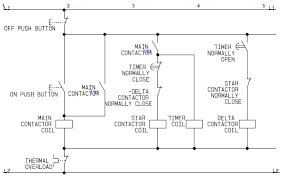 control wiring of star delta starter with diagram as wiring diagram control wiring diagram of star delta starter star delta on wiring diagram of star delta starter fresh wiring diagram delta
