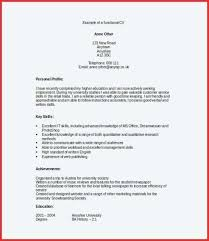Example Of A Functional Resume Functional Resume Template Best ...