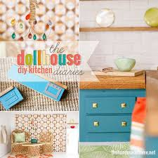 how to make dollhouse furniture. how to make a dollhouse kitchen the handmade home furniture d