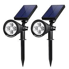 innogear mt 057 solar lights spotlight outdoor landscape lighting