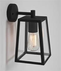 modern exterior wall lights uk. contemporary square bracket lantern - exterior wall light modern lights uk