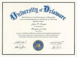 Sample Degree Certificates Of Universities Diplomas Registrars Office
