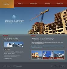 Building Constructions Company Construction Company Flash Template 19268