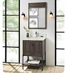 fairmont designs 1401 24 toledo 24 inch traditional bathroom vanity in a grey finish