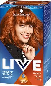 030 Mango Twist Hair Dye By Live
