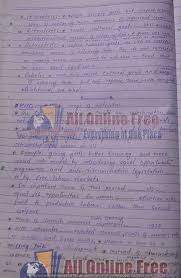 gender studies notes hand written for css all online   gender studies notes hand written 19
