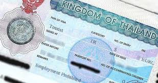 thailand tourist visa requirements and