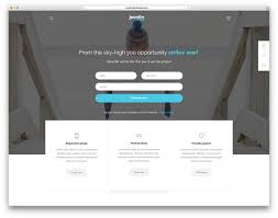 sale page template 20 best wordpress themes for static websites and sales pages 2018