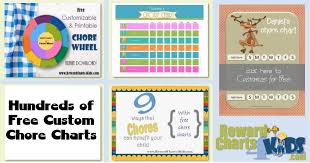 Make Your Own Reward Chart Online Free Printable Chore Chart For Kids Customize Online