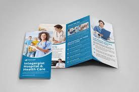 Medical Healthcare Brochure Medical Trifold Brochure Medical Flyer Trifold Brochure Template