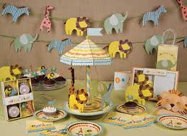 colorful baby shower decorations. baby shower ideas safari centerpieces for boys animal theme colorful decorations