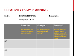 question a essay plans as a2 18 creativity essay planning
