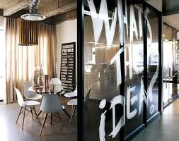 interior office space. take a look at this edgy and contemporary meeting room design in commercial office space interior