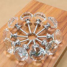 glass cabinet knobs. Lot 100 Crystal Glass Cabinet Knobs Drawer Dresser Cupboard Handles HC L