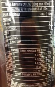monster can nutrition facts. Perfect Nutrition Monster Rehab  Nutrition Facts Intended Can Facts
