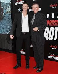 alan thicke robin thicke side by side. Unique Side Side By Side Alan Was Father To Pop Star Robin Thicke The Pair Are And Thicke By
