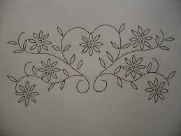 アンティークな花柄刺繍 糸巻きパレットガーデン