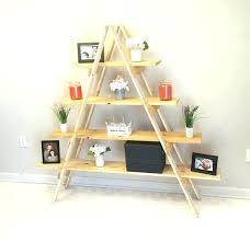 ladder display shelf ladder display shelf ladder shelf wooden ladder craft fair display by ladder display
