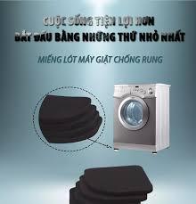 ⭐Combo chân chống rung cho máy giặt Proki miếng lót kê chân máy giặt chống  rung lắc giảm tiếng ồn chống trơn trượt miếng lót chống rung cho máy giặt LG  Electrolux