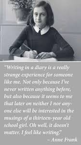 anne frank on keeping a diary pinteres  anne frank on keeping a diary more