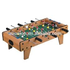 Miniature Wooden Foosball Table Game 100 Tabletop FoosballTabletop FootballMini Wooden Football Table 38