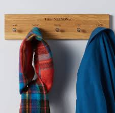 Personalised Coat Rack Personalised Coat and Key Rack MijMoj 87
