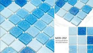 glass mosaic tile for swimming pool blue color wall popular design flooring tiles gold coast