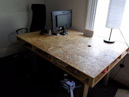large office table. DIY Large Office Desk/Table OSB Table D