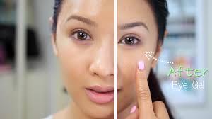 make eye gel with aloe