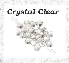 Broušené Kamínky Crystal Clear Ss16 300ks