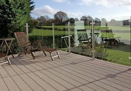 glass decking panels. Beautiful Glass Glass Balustrade Without Handrail And Decking Panels I