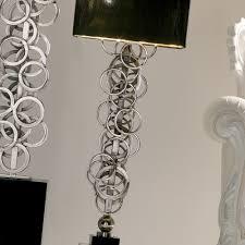 contemporary italian lighting. High End Contemporary Italian Silver Lamp Lighting