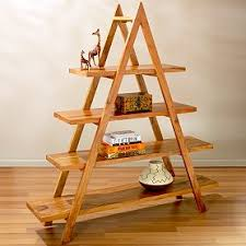 Pyramid Shelving with Light Finish $179.40 .