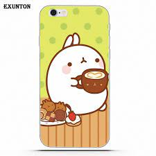 Molang Kawaii Wallpapers Soft TPU Case ...