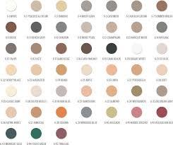 Vip Grout Tile Concepts Hydroment Color Chart