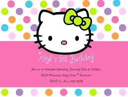 Create Your Invitation Birthday Invites Wonderful Hello Kitty Invitations To Create Your