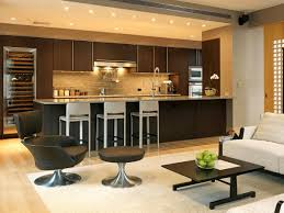 Modern Kitchen Living Room Open Kitchen Living Room Design Ideas Best Small Open Concept