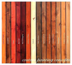 colors of wood furniture. Wood Furniture Colors Chart Beautiful Stain  With Water Based Color . Of
