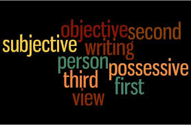 First Second And Third Person Singular And Plural Chart Points Of View First Second And Third Person Grammar