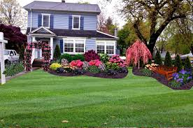 Small Picture Garden Design With Asola Landscaping Ideas Front Yard Full Sun Red