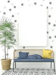 mid century metal wall decor gold 36x30 decals atomic star decal retro starburst mid century metal wall decor